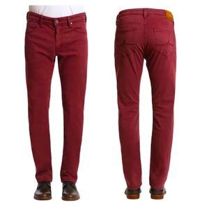 34 Heritage Courage Red Pant 30x34 Straight Chino